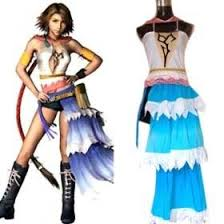 <b>Anime Final Fantasy Cosplay</b> Final Fantasy XII Yuna Women's ...