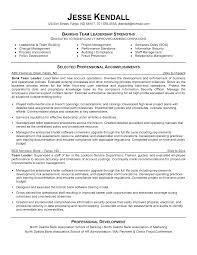 leadership resume examples com leadership resume examples is one of the best idea for you to make a good resume 7