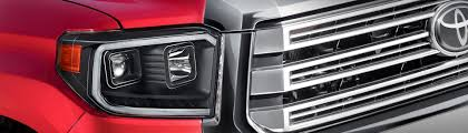Three Completely <b>New 2019</b> Toyota Tundra LED DRL Bar Projector ...