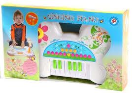 Музыкальный инструмент на батарейках Синтезатор Singing ...