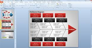 fishbone cause and effect diagram for powerpointcause and effect diagram for powerpoint