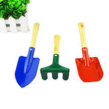 Buy PlantLover <b>3</b>-<b>Piece Kids Garden</b> Tools Set 2 Shovels and 1 ...