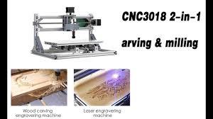 CNC3018 DIY CNC Router Kit 2-in-1 Mini <b>Laser Engraving</b> Machine ...