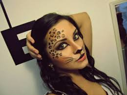 Sweet cheetah makeup! Definitely going to do this for Halloween! in ...