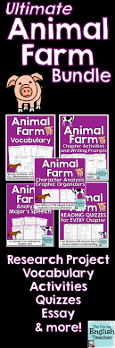 best ideas about animal farm novel animal farm this animal farm teaching bundle includes everything you need to teach george orwell s animal farm