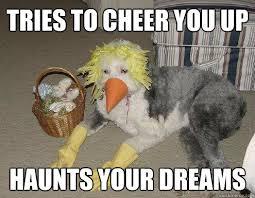 tries to cheer you up haunts your dreams - Dress-Up Dog - quickmeme via Relatably.com