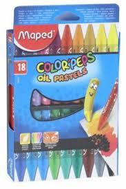 """""""<b>Пастель масляная</b> """"Color'peps"""" (18 цветов) (864011)"""""""