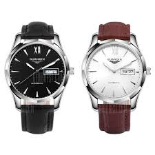 <b>GUANQIN GJ16034</b> White Mechanical Watches Sale, Price & Reviews
