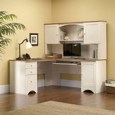 Corner Kitchen Hutch White Sauder Harbor View Hutch Antiqued White Walmartcom