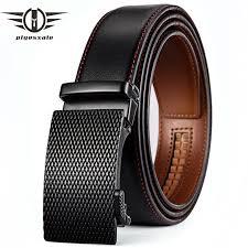 <b>Plyesxale Famous Brand Belt</b> Men 2018 Cowhide Genuine Leather ...