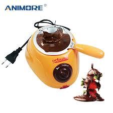 ANIMORE Chocolate Candy <b>Melting Pot</b> Electric <b>Chocolate Fountain</b> ...