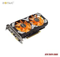 <b>Original ZOTAC video Card</b> GTX 750Ti 2GD5 GDDR5 Graphics for ...