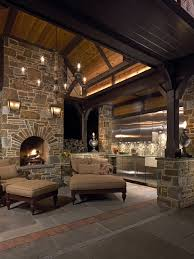 architecture cool stone fireplace pictures archaic kitchen eat