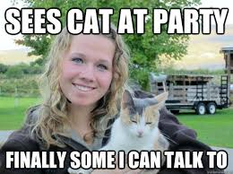 A cat walks in - Crazy Cat Lady - quickmeme via Relatably.com