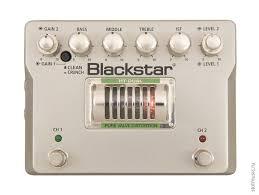 <b>Педаль эффектов</b> для электрогитары <b>Blackstar</b> HT-Dual ...