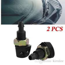 <b>2Pcs</b> Universal <b>Car Vehicle</b> Front Windshield Window Washer ...