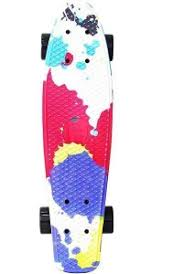 <b>Скейтборд Y</b>-<b>Scoo</b> RT <b>Fishskateboard</b> Print <b>22</b> (401G-Sp) Splatter ...