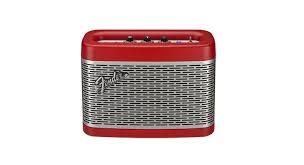 newport bluetooth speaker red