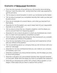preparing for an interview state university examples of traditional and behavioral interview questions