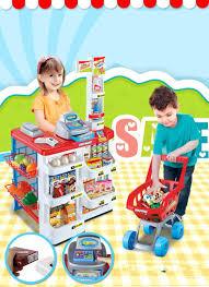 pcs set play house toy supermarket red cash register cart shelf 34pcs set play house toy supermarket red cash register cart shelf set fun toy pretend