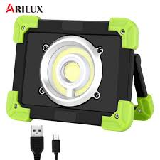 ARILUX 20W <b>Portable Camping Lights</b> 22leds 1500LM LED COB ...