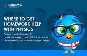 Where to Get Homework Help with Physics