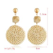 2019 <b>HOCOLE</b> High Quality New Women <b>Fashion Drop</b> Earrings ...