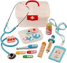 HMANE 16Pcs Children Pretend Play Toys Wooden ... - Amazon.com