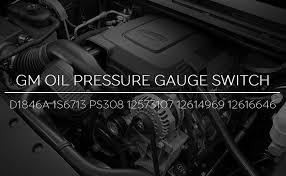 D1846A Engine Oil Pressure Sensor Switch ... - Amazon.com