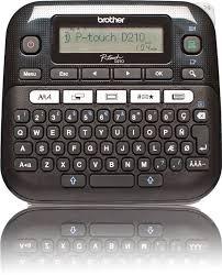 Купить <b>Принтер Brother P-touch PT</b>-<b>D210</b> стационарный черный ...