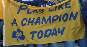 Image result for notre dame football images