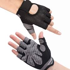 Hually Gym Gloves, Breathable Training Gloves with <b>Microfiber</b> ...