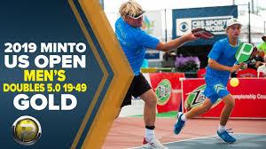<b>Men's</b> Doubles 5.0, 19-49 GOLD - <b>2019</b> Minto US Open Pickleball ...