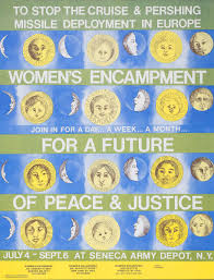 civil disobedience war resisters league seneca women s peace encampment poster