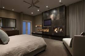 bedroom ceiling lights led and stainless steel fan blade above king size linen duvet cover toward ceiling wall lights bedroom