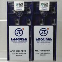 LAMINA TPKN1603PDTR <b>LT30</b> 10pcs carbide inserts | eBay