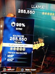 probably my greatest accomplishment in 8 years of playing rock probably my greatest accomplishment in 8 years of playing rock band
