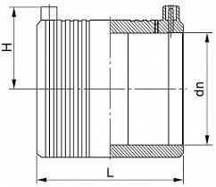 Муфта <b>ПНД</b> (<b>ПЭ</b>) электросварная, SDR 11, для <b>трубы 20 мм</b>