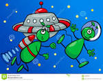 Image result for aliens in space