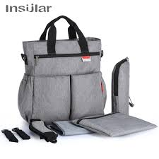 <b>Insular</b> Colorful Baby Diaper Bag Nappy Stroller Bags Waterproof ...