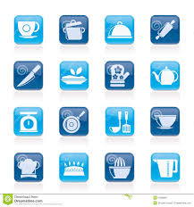 kitchen items store: restaurant and kitchen items icons restaurant kitchen items icons vector icon set created print mobile web applications
