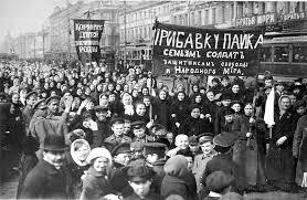 Manifestación de R.Rusa