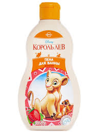"""Детская <b>пена для ванны</b> сладкая клубника """"<b>Disney</b> Король Лев"""" 2 ..."""