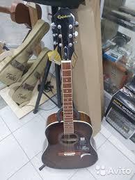 <b>Акустическая гитара epiphone aj-220s</b> mb купить в ...