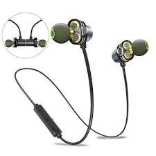 [dual dynamic drivers] <b>awei</b> bluetooth earphone magnetic noise ...