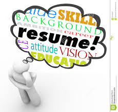 resume writing clipart clipartfest resume word thought cloud