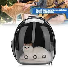 <b>Pet Backpack</b>, <b>Cat</b> Portable <b>Backpack</b> Capsule Space Transparent ...