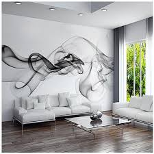 <b>Custom 3D photo wallpaper</b> Smoke clouds abstract artistic wall ...