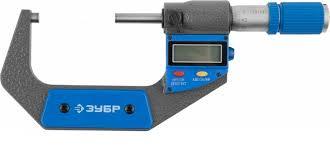 """<b>Микрометр</b> """"<b>Зубр</b>"""" гладкий, <b>цифровой</b>, <b>МКЦ</b> 100, диапазон 75-100 ..."""