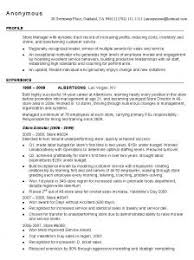 retail management resume examples and samples   best resume gallery  retail management resume samples